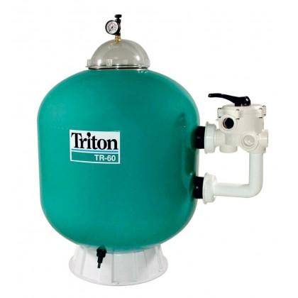 Filtrační nádoba Triton - TR 60,610 mm,14 m3/h,6-ti cest. boční ventil -záruka 3 roky